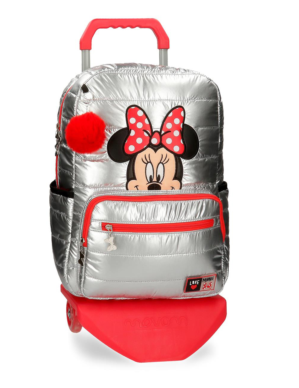 "21623t1 Mochila 42cm Portaordenador 15.6"" Minnie con Carro My Pretty Bow"