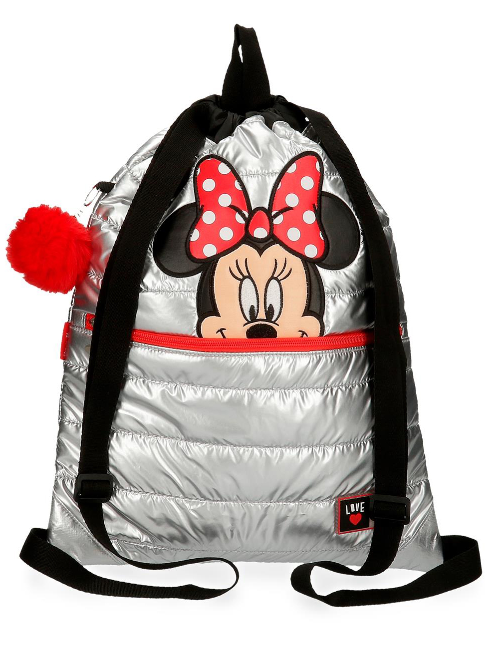 2163821 Gym Sac con Cremallera Minnie My Pretty Bow