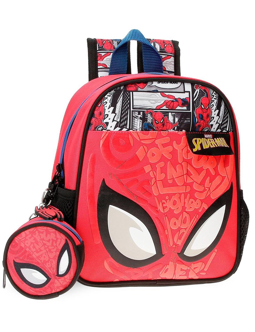 2252021 Mochila 25cm Spiderman Comic