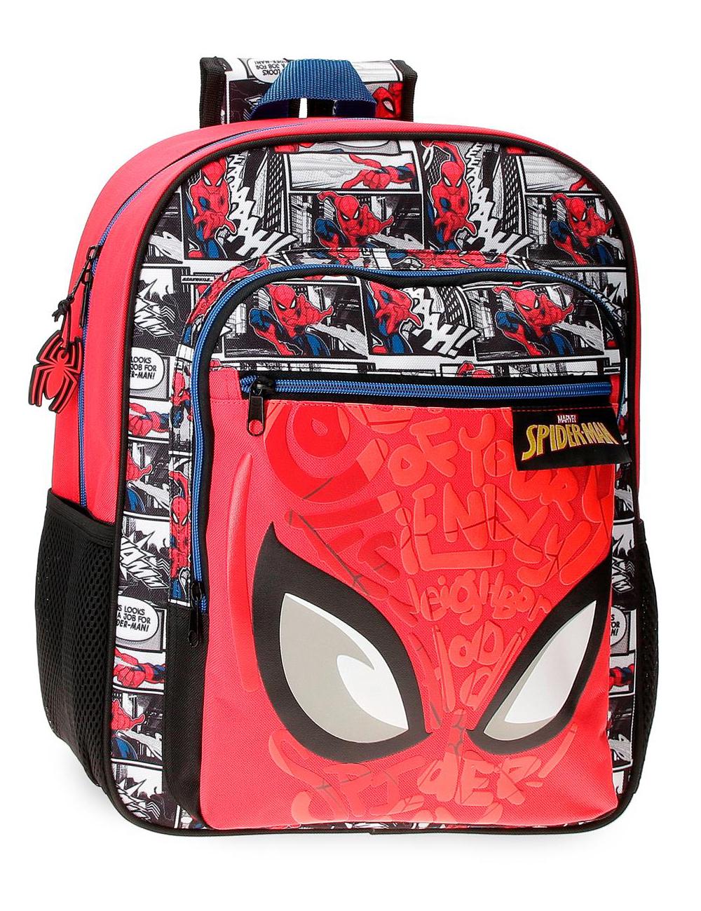 2252321 Mochila 38cm Spiderman Comic