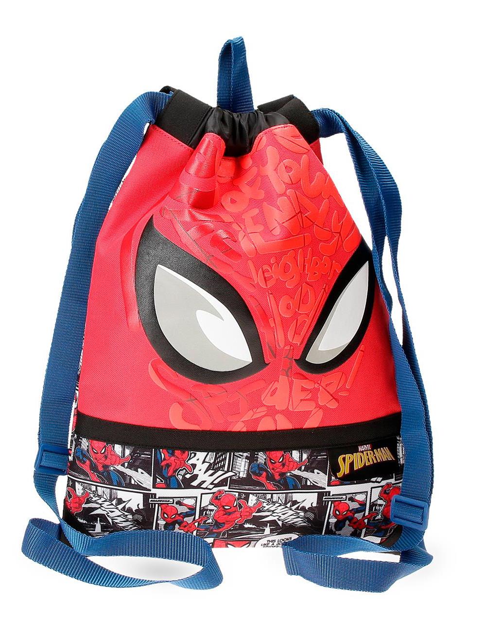 2253821 Gym Sac Spiderman Comic