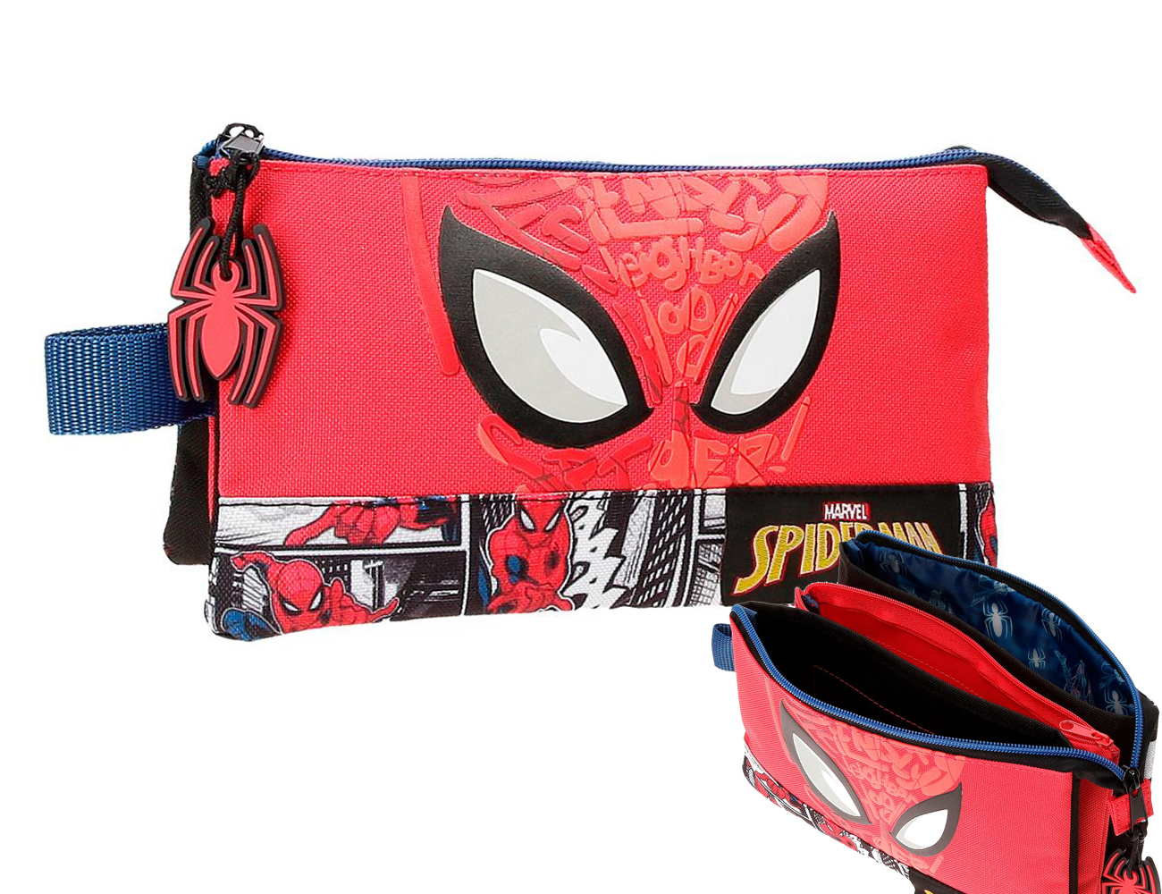2254321 Portatodo 3C. Spiderman Comic