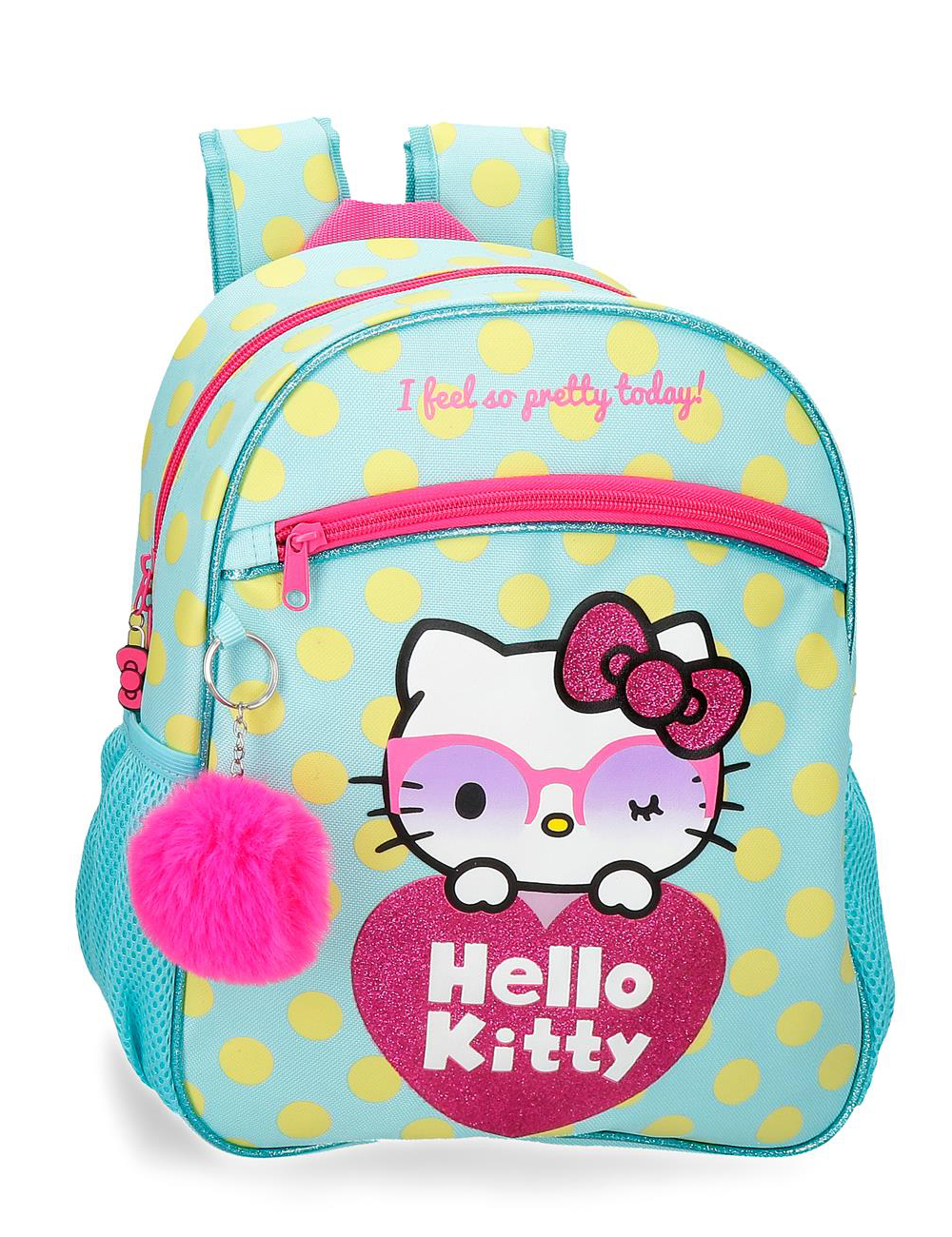 4262221 Mochila 33cm Hello Kitty Pretty Glasses