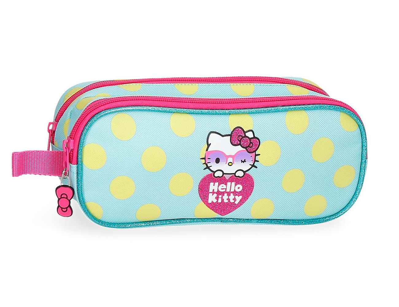 4264221 Portatodo Doble Hello Kitty Pretty Glasses