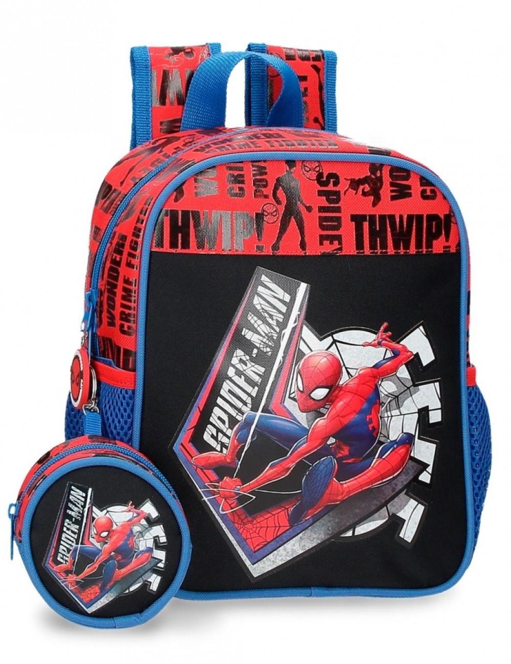 Mochila 25cm Spiderman Grat Power 4452021
