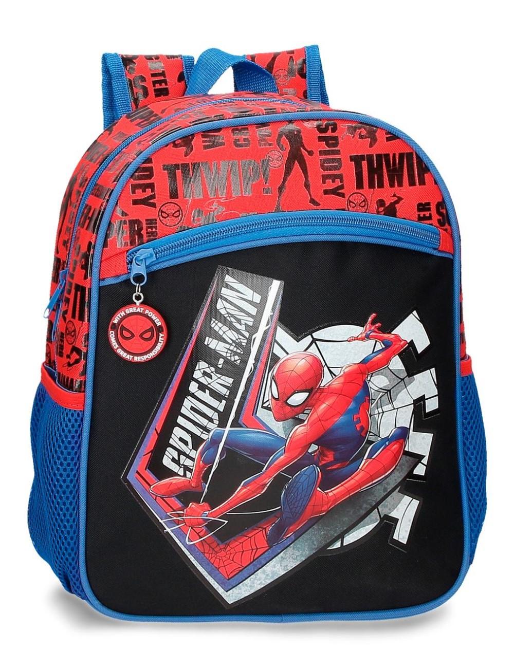 Mochila 33cm. Spiderman Great Power 4452221