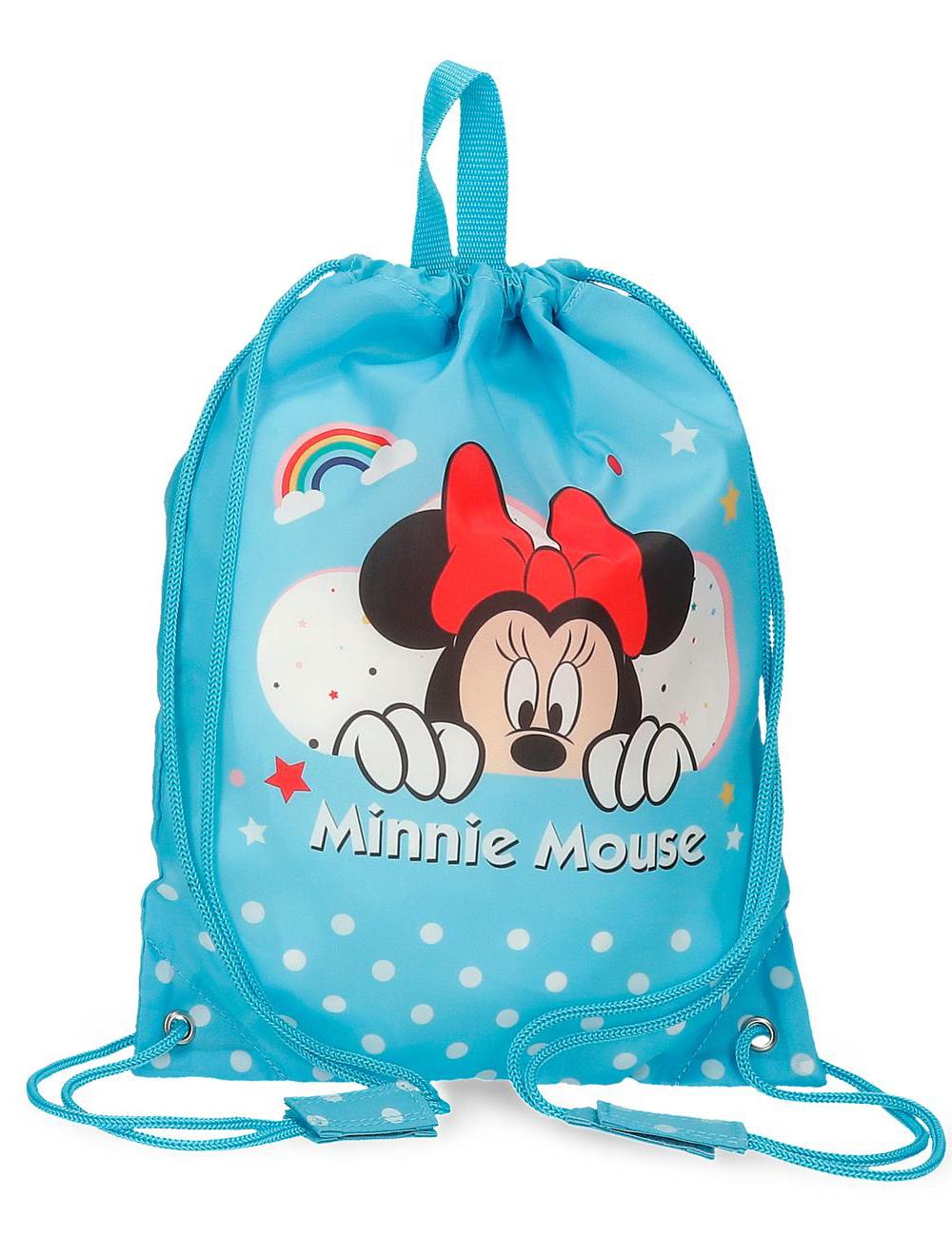 4773763 Bolsa de Merienda Minnie Rainbow Azul