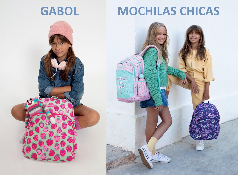Mochilas Gabol Chicas